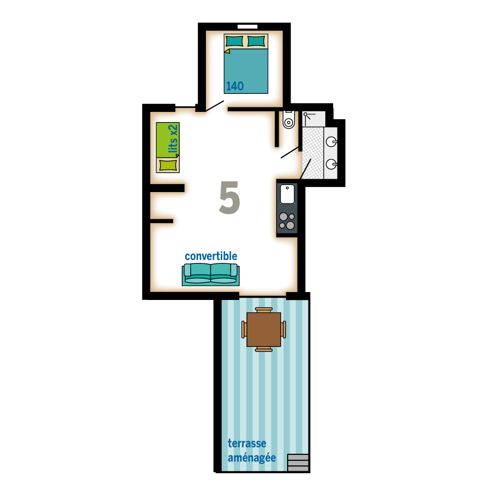 Plan Appartement 1